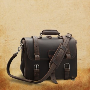Dark Coffee Briefcase